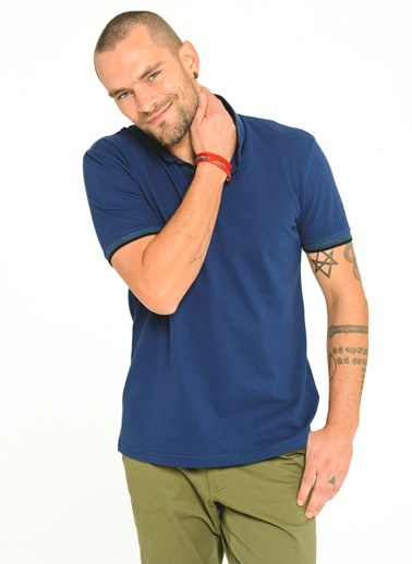 Polo Yaka T-Shirt-People By Fabrika